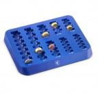 Vassoio portamonete - 25,5x20,2x2,5 cm - blu - HolenBecky