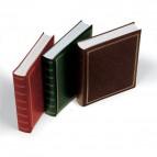 Album per foto Lebez - copertina marrone-blu-verde-rosso- similpelle - 40fogli - 26x30cm-0380-ASS