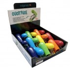 Cucitrici in ABS - colori assortiti - RiPlast - espositore 18 pezzi
