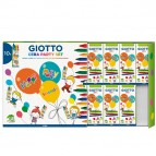Set 10 astucci da 4 pastelli a cera - party gifts - Giotto