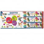 Set 12 astucci da 6 pennarelli - turbo color party gifts - Giotto