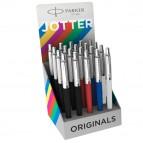 Expo 20 penne a sfera M Jotter Original Plastic assor. (ne/ro/bi/bl) Parker