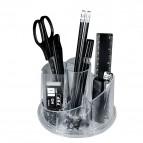 Set portatutto girevole con accessori Niji - trasparente - 5475