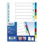 Divisori Neutri a 12  tacche - PP - A4 - colori assortiti - Favorit