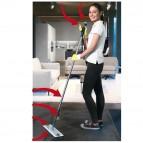 Kit completo sistema di pulizia Spraypro - manico + telaio + 2 top in microfibra + 5 panni vetro - Vileda