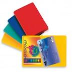 Busta porta card - 5,8x8,7 cm - 2 tasche - colori assortiti - Sei Rota