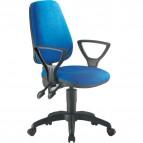 Sedia operativa ergonomica Valzer Unisit - blu - LDAY/BR/IB