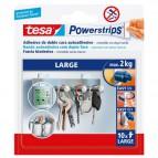 Strisce biadesivo Powerstrips removibili Tesa - tasselli biadesivi -  bianco - 58060-00000-01 (conf.10)