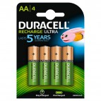 Pila ricaricabile stay charged Duracell - stilo - AA - 1,2 V - 94057050 (conf.4)