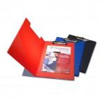 Portablocco con copertina frontale Pergamy - blu - 34x23,3 cm - 900005