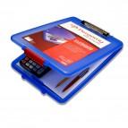 Portablocco con scompartimento Pergamy - blu - 900015