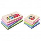 Blocchetti riposizionabili pastello Pergamy - 76x76 mm - assortiti pastello - 900755 (conf.12)