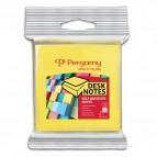Blister blocchetti riposizionabili Pergamy - 76x76 mm - giallo neon, rosa neon - 900763 (conf.2)