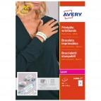 Braccialetti identificativi stampabili - bianco - 5 fogli - A4 - Avery