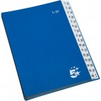 Classificatore numerico 1-31 5 Star - blu - 40050-02