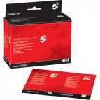 Salviette detergenti per schermo bagnate e asciutte 5 Star - 907883 (conf.40)