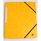 Cartelline con elastico a 3 lembi giallo 922927 5 Star (conf.10)