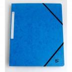 Cartelline con elastico a 3 lembi blu scuro 922935 5 Star (conf.10)
