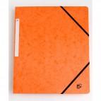 Cartelline con elastico a 3 lembi arancio 922943 5 Star (conf.10)
