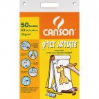 Blocco disegno da tavolo Canson - A3 - 125 gr/mq - C200767001