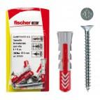 Fissaggio con vite DUOPOWER Fischer - 6 mm - 537625 (conf.12)