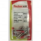 Fissaggio DUOPOWER Fischer - gancio medio - 537631 (conf.6)