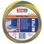 Nastro antisdrucciolo Tesa - 15m x 50 mm - giallo/nero - 60951-00000-00