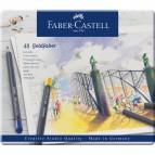 Astuccio matite colorate GOLDFABER Faber Castell - 3,3 mm - 114748 (conf.48)