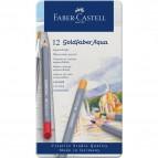 Astuccio matite colorate GOLDFABER AQUA Faber Castell - 3,3 mm - 114612 (conf.12)