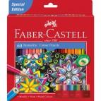Astuccio matite colorate Eco Faber Castell - 3,0 mm - 111260 (conf.60)