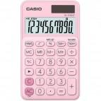 Calcolatrice tascabile SL-310UC a 10 cifre Casio - rosa pastello - SL-310UC-PK