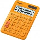 Calcolatrice da tavolo MS-20UC a 12 cifre Casio - arancione - MS-20UC-RG