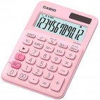 Calcolatrice da tavolo MS-20UC a 12 cifre Casio - rosa pastello - MS-20UC-PK