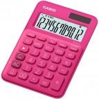 Calcolatrice da tavolo MS-20UC a 12 cifre Casio - rossa - MS-20UC-RD