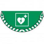 Adesivi segnalatori CEP - Defibrillatore - 7010/10