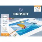 Album Pochette C4 Canson - Ruvido - 224 g/m² - C400089594