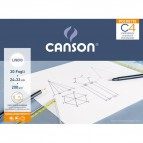 Album Pochette C4 Canson - Liscio - 200 g/m² - 400089595