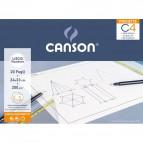 Album Pochette C4 Canson - Liscio riquadrato - 200 g/m² - C400089597