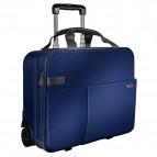 Pilotina trolley Smart Traveller Leitz Complete 15,6 - Blu titanio - 60590069