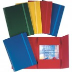 Cartelle in presspan con fettuccia Esselte - 25x35 cm - rosso - 390344161 (conf.10)