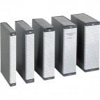 Cartella portaprogetti Delso Line Esselte - dorso 8 cm - 25x35 cm - bianco/grigio - 390308040 (conf.5)
