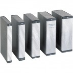 Cartella portaprogetti Delso Line Esselte - dorso 12 cm - 25x35 cm - bianco/grigio - 390312040 (conf.5)