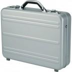 Borsa ventiquattrore porta PC Alumaxx - 34x45,5x11 cm - argento - 45188