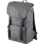 Zaino per notebook Rider Lightpak - 47x28x16 cm  - grigio - 46161