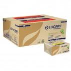 Asciugamani Eco Natural Lucart - Z - 2 veli - 23x23,5 cm - 864036 (conf.18)