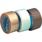 Nastro da  imballo Syrom - silenzioso - PVC - 50 mm x 66 m - bianco - 50 my - 438 (conf.6)