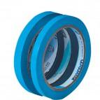 Nastro adesivo per chiusura sacchetti Syleco Syrom - 9 mm x 66 m - azzurro - 7227 (conf.16)