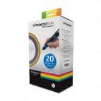Originale Polaroid 3d conf. 20 filamento in bobina plastica pla - 20x15 gr- colori ass- 3D-FP-PL-2500-00