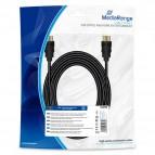Cavo di collegamento HDMI 10.2Gbit/s con Ethernet Mediarange - 5 m - nero - MRCS211