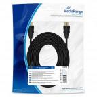 Cavo di collegamento HDMI 10.2Gbit/s con Ethernet Mediarange - 10 m - nero - MRCS212